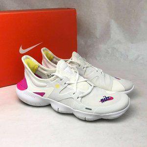 Nike Free Rn 5.0 JDI Running Shoe CI1289-100 White
